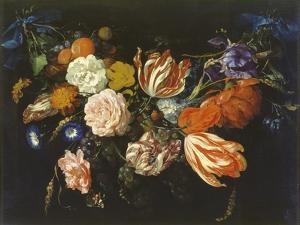 Garland of Flowers and Fruits, First Half of 17th Century by Jan Davidsz. de Heem
