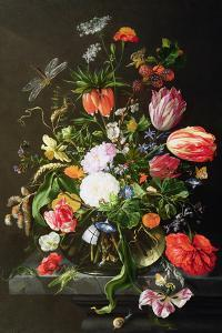Still Life of Flowers by Jan Davidsz^ de Heem