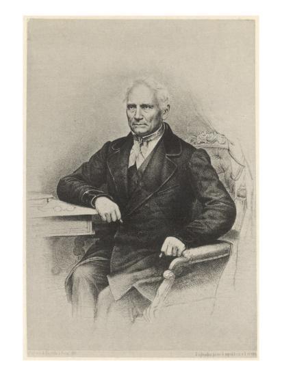 Jan Evangelista Purkyne (Or Purkinje) - Bohemian Physiologist from Prague, Friend of Goethe--Giclee Print