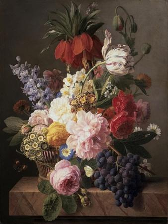 Flowers and Fruit, c.1827