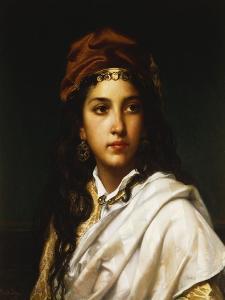 An Oriental Beauty by Jan Frederick Portielje