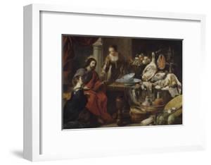 Jésus chez Marthe et Marie by Jan Fyt