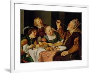 A Feast by Jan Gerritsz. van Bronckhorst