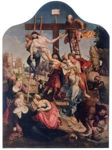 The Descent from the Cross, C1520 by Jan Gossaert