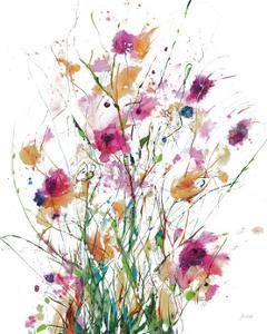 Hidden on White Crop by Jan Griggs