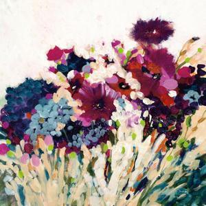 In Bloom on White Crop by Jan Griggs