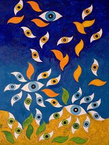 A Shower of Eyes, 2006 by Jan Groneberg