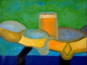 Still Life with Beer and Fish, 2009 by Jan Groneberg