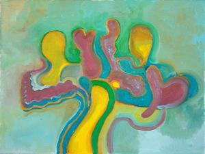 Three Friends Re-Unite after a Long Time, 2009 by Jan Groneberg