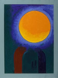Two Musk-Rats under the Moon, 2008 by Jan Groneberg
