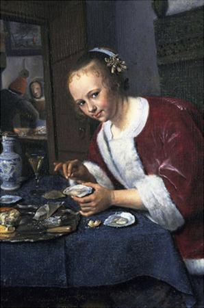Girl with Oysters