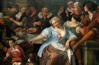 Merry Company on a Terrace, Ca. 1673–75