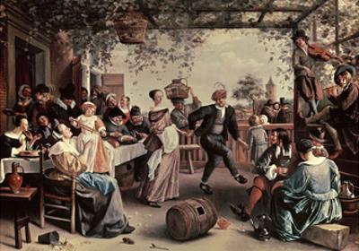 Pareja De Baile, 1663