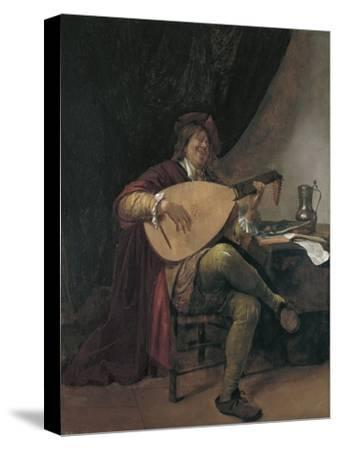 Self-Portrait Playing the Lute, Ca 1665