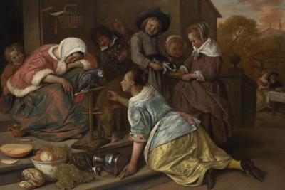 The Effects of Intemperance, Ca 1665