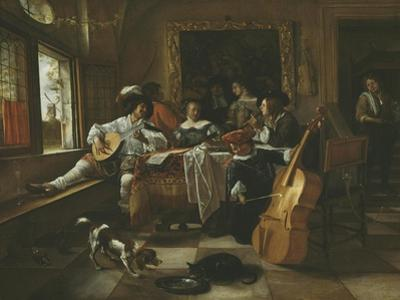 The Family Concert, 1666