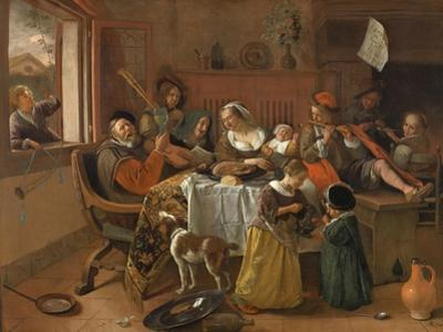 The Merry Family, 1668