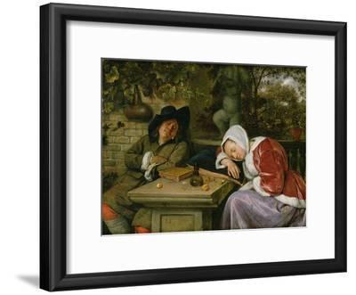 The Sleeping Couple, C.1658-60