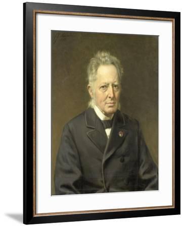 Jan Heemskerk Azn. Minister Van Binnenlandse Zaken--Framed Art Print