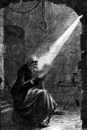 Jan Huss, Heretical Bohemian Theologian, 1866-Charles Joseph Staniland-Giclee Print