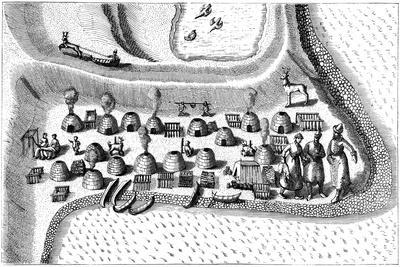 Settlement in Russian Lapland, 1594