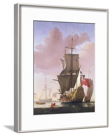 Galleon in Full Sail