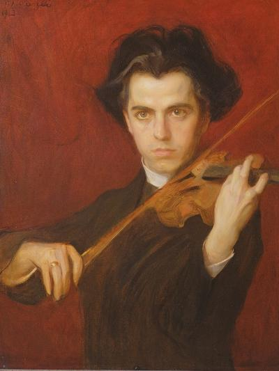 Jan Kubelik (1880-1940), 1903-Philip Alexius De Laszlo-Giclee Print