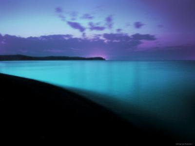 Glowing Turquoise Blue Waters