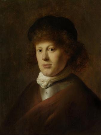 Portrait of Rembrandt Harmensz Van Rijn, Jan Lievens.