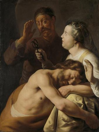 Samson and Delilah, 1635