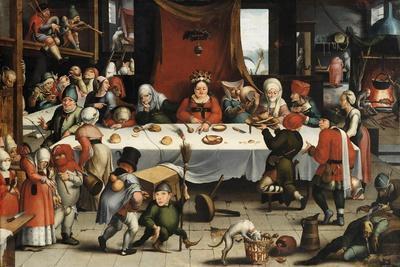 Burlesque Feast, C. 1550