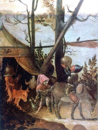 Landscape Scene, Legend of Saint Christopher, C1520-1559