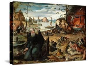 The Temptation of Saint Anthony by Jan Mandyn