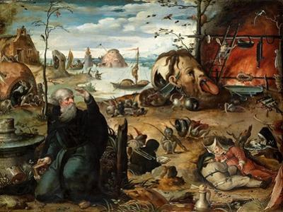 The Temptation of Saint Anthony by Jan Mandyn