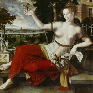 Flora, 1559 by Jan Massys