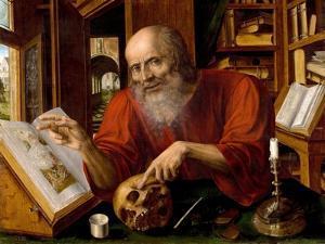 Saint Jerome, 1530-1540 by Jan Massys