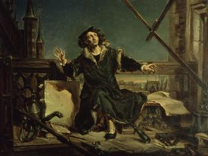 Copernicus in the Tower at Frombork by Jan Matejko