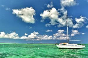 Crooked Island Sailing by Jan Michael Ringlever