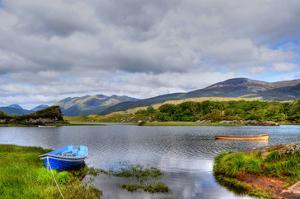 Solitude on Killarney Lakes by Jan Michael Ringlever