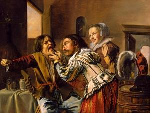 The Dentist, 1629 by Jan Miense Molenaer