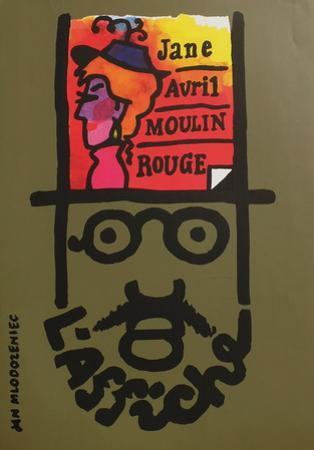 Jane Avril Moulin Rouge