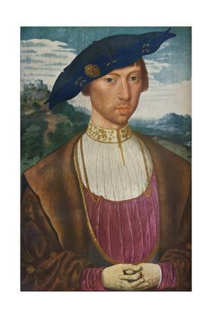 'Portrait of Joost van Bronckhorst', c1520