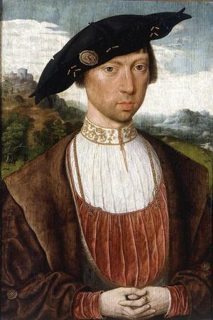 Portrait of Joost Van Bronkhorst