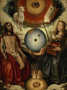 Allegory of Christianity by Jan Provost