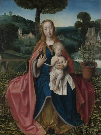 The Virgin and Child in a Landscape, Early16th C