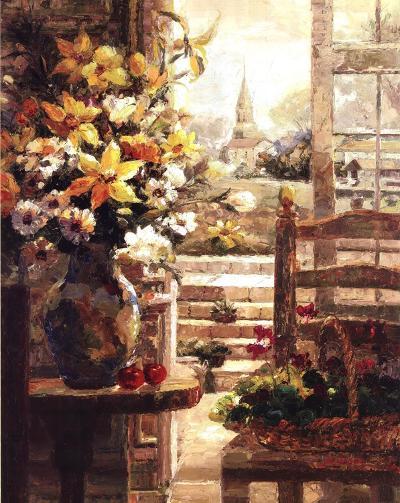 Jan's Bouquet-R^ Hong-Art Print