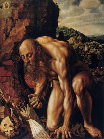 St Jerome, 1543