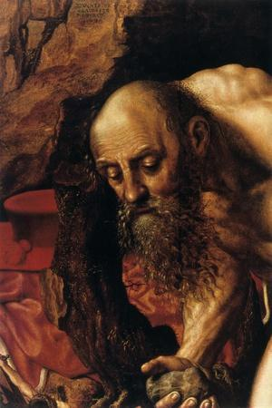 St Jerome, Detail, 1543