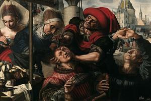 The Surgeon, 1550-1555 by Jan Sanders van Hemessen
