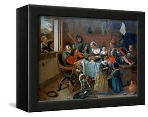 The Merry Family, 1668 by Jan Steen